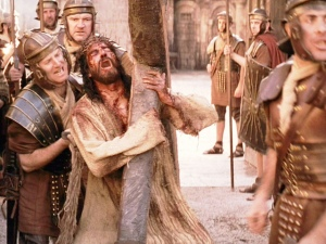 """If anyone would come after me, let him deny himself and take up his cross and follow me."