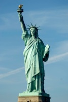 The Statue of Liberty. Lady Liberty needs moral theory for support.