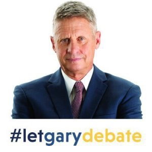 Gary Johnson - Let Gary Debate - #letgarydebate