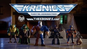 Kronies action figures - They're Konnected!