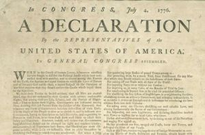 Declaration of Independence - United States of America